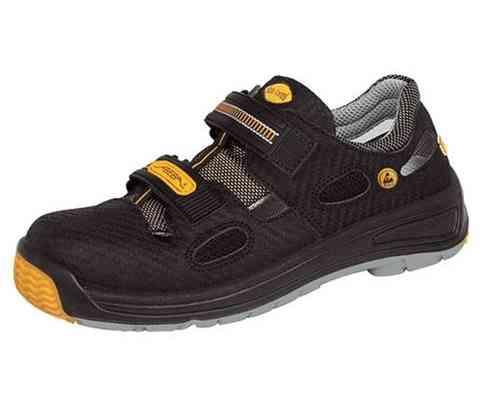 best service 66380 3fef9 ABEBA 1275 Sicherheitsschuhe S1 Sandale mit Kunststoffkappe