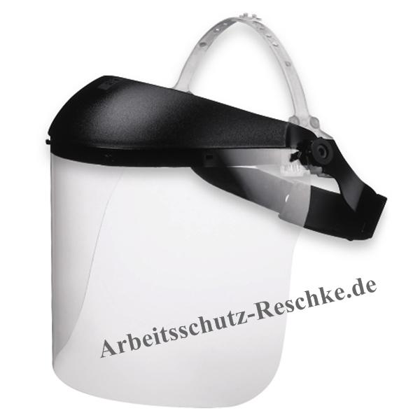 uvex gesichtsschutzschirm 9705 mit integrierter stirnabdeckung. Black Bedroom Furniture Sets. Home Design Ideas